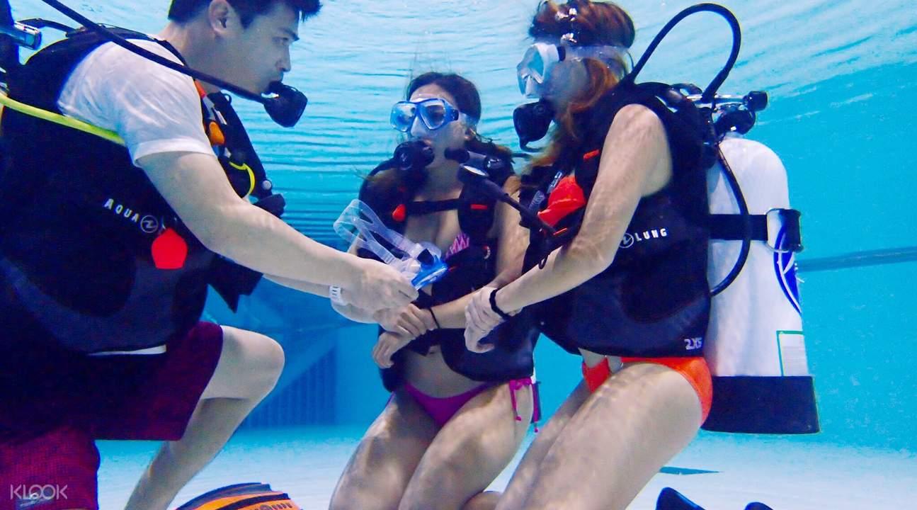 divecube hotel city diving