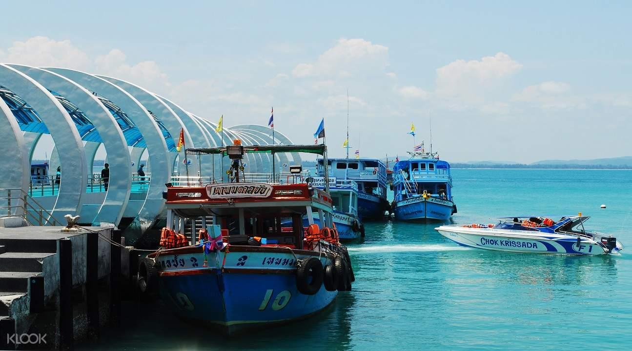 泰國芭達雅至沙美島碼頭拼團車船聯運
