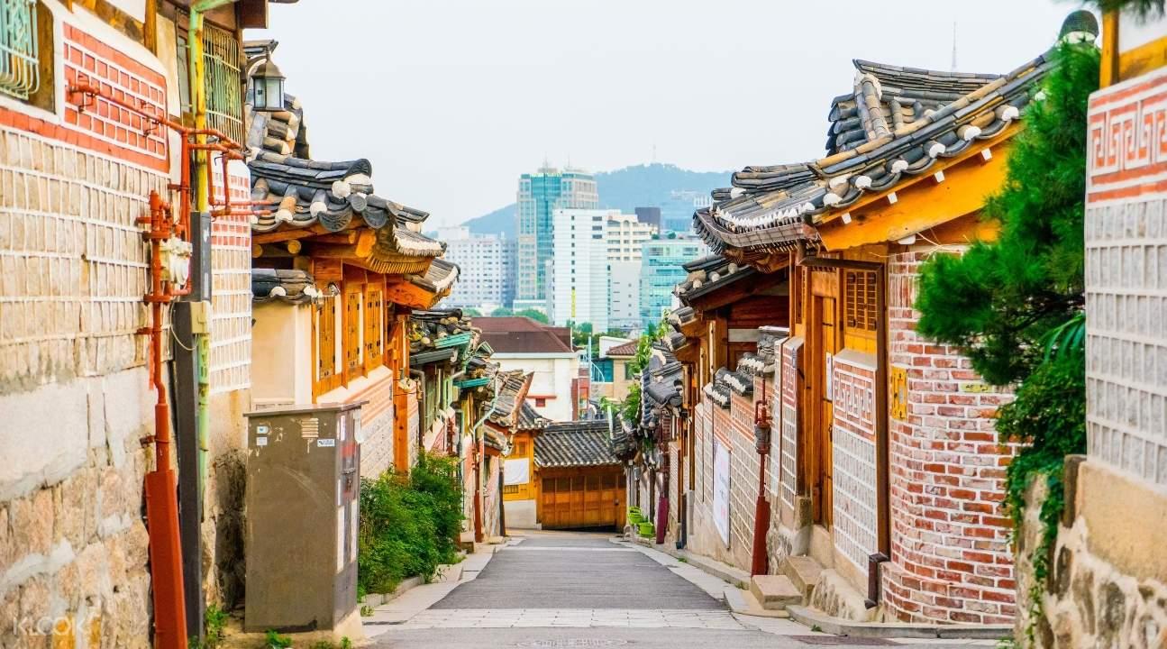 seoul day tour, namsangol hanok village tour