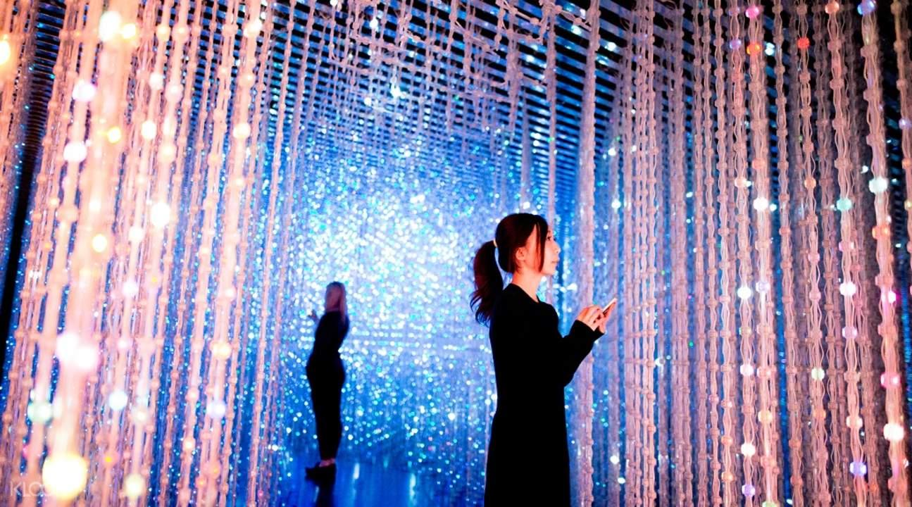 singapore art science museum crystal universe