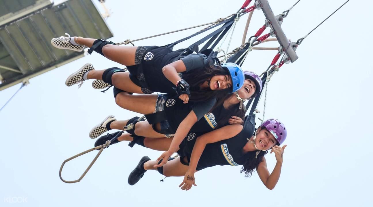 sentosa giant swing