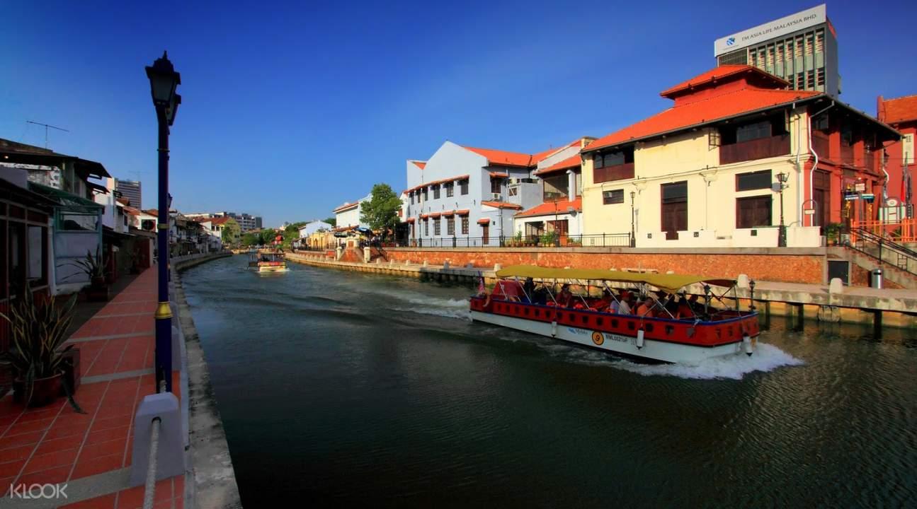 river cruise in melaka river