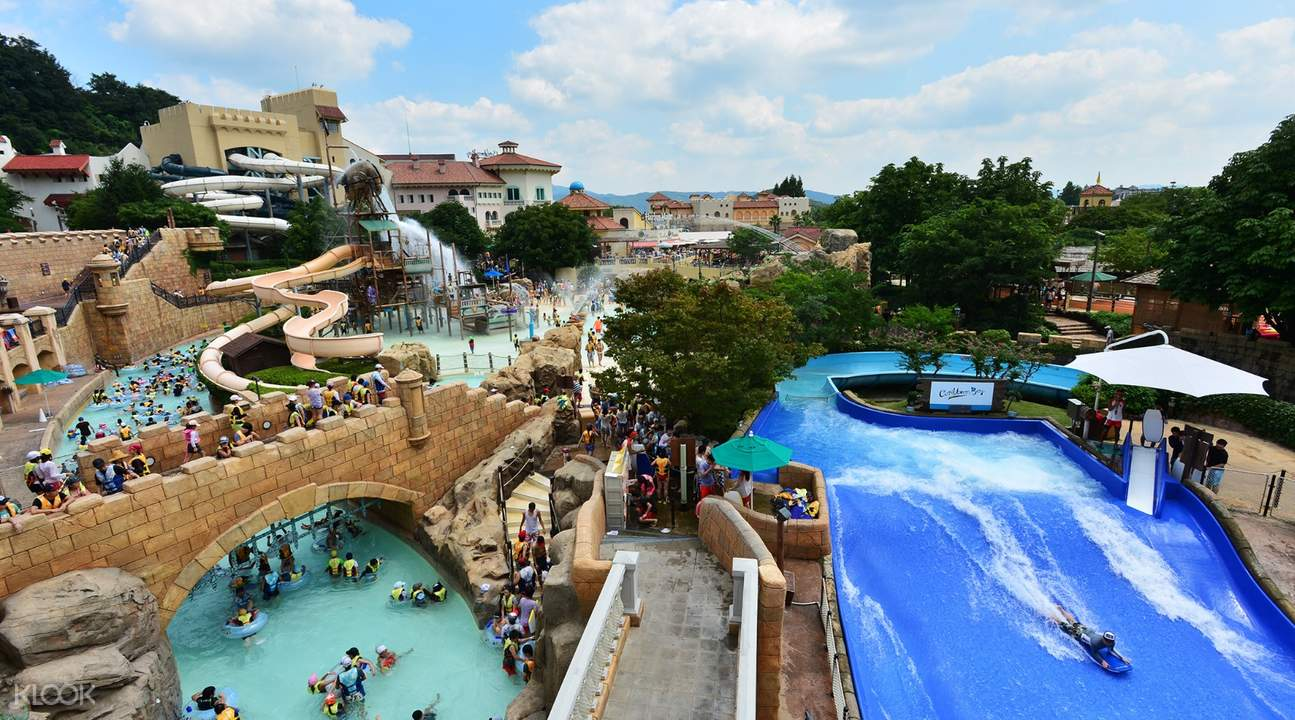 首尔往返爱宝乐园 & 加勒比海湾水上乐园接驳巴士