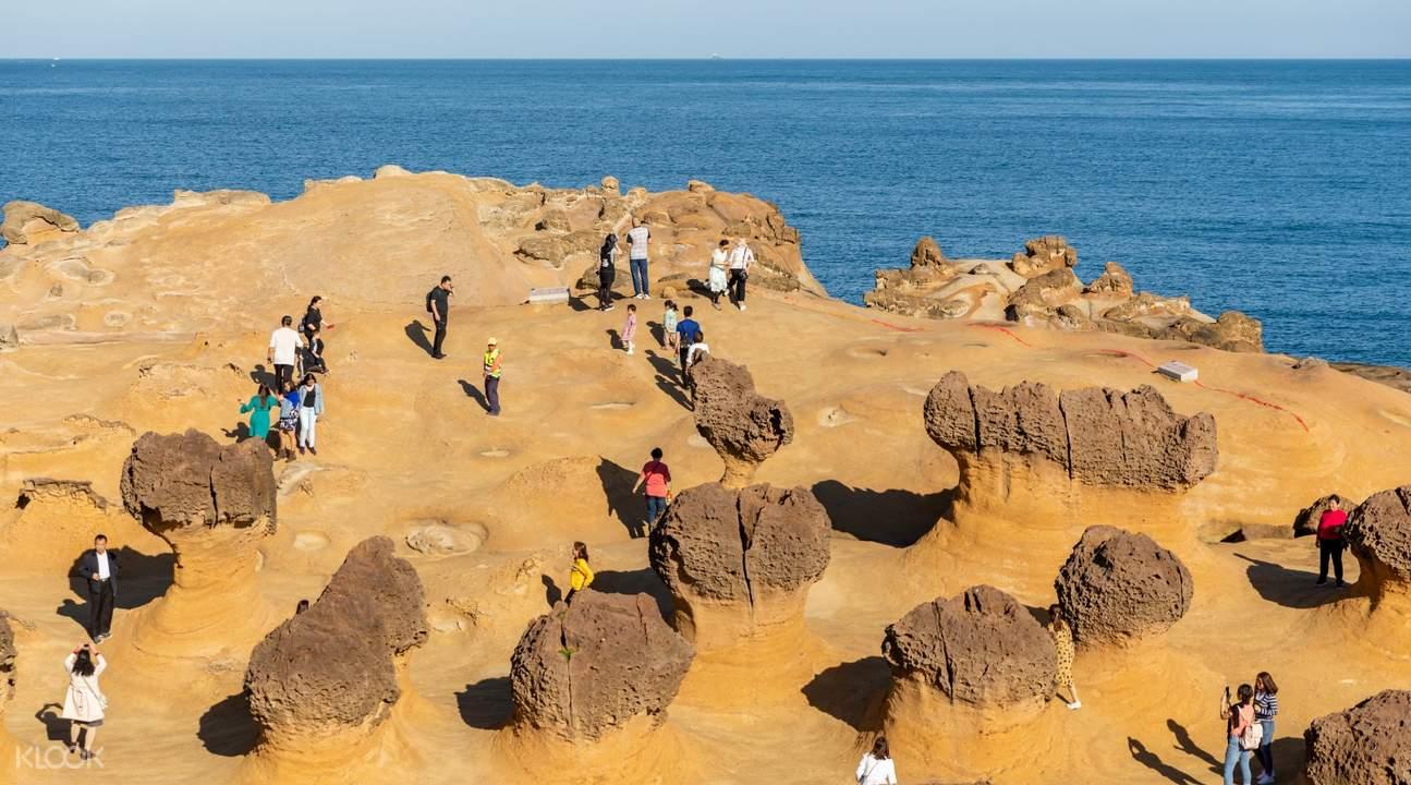 Yehliu geopark rock formations