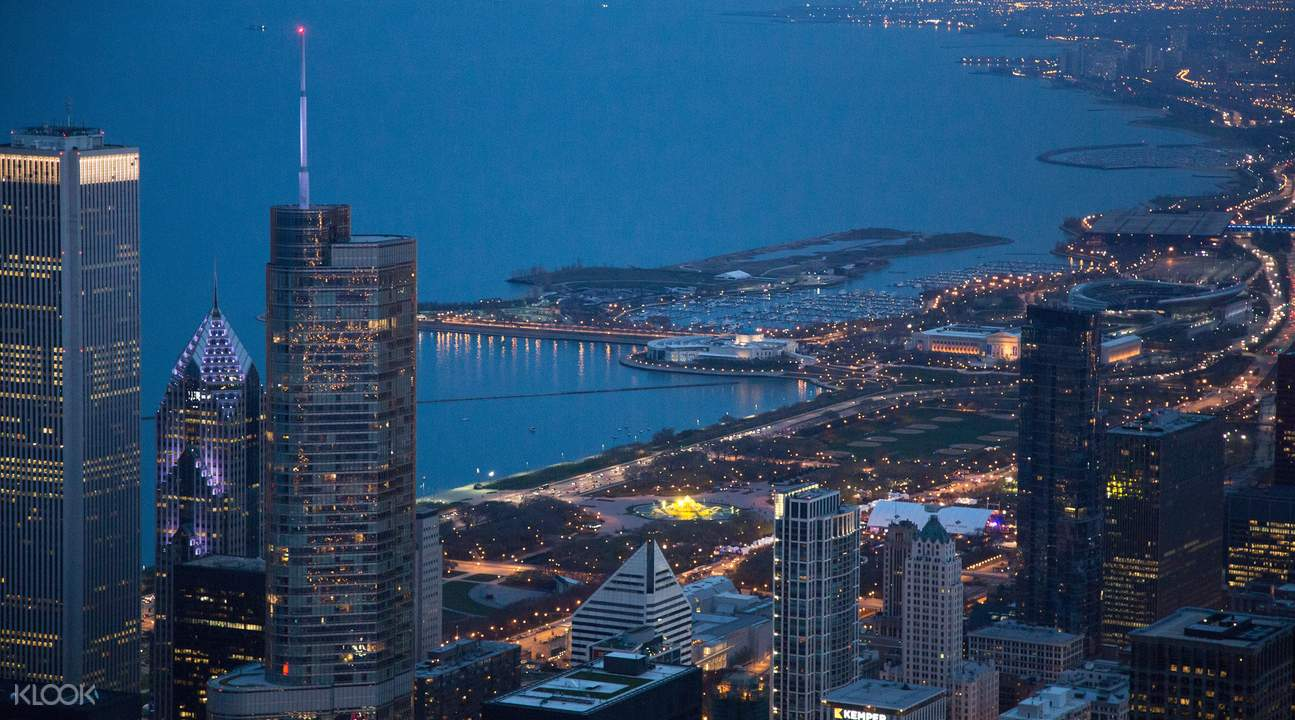 chicago helicopter tours nighttime tour