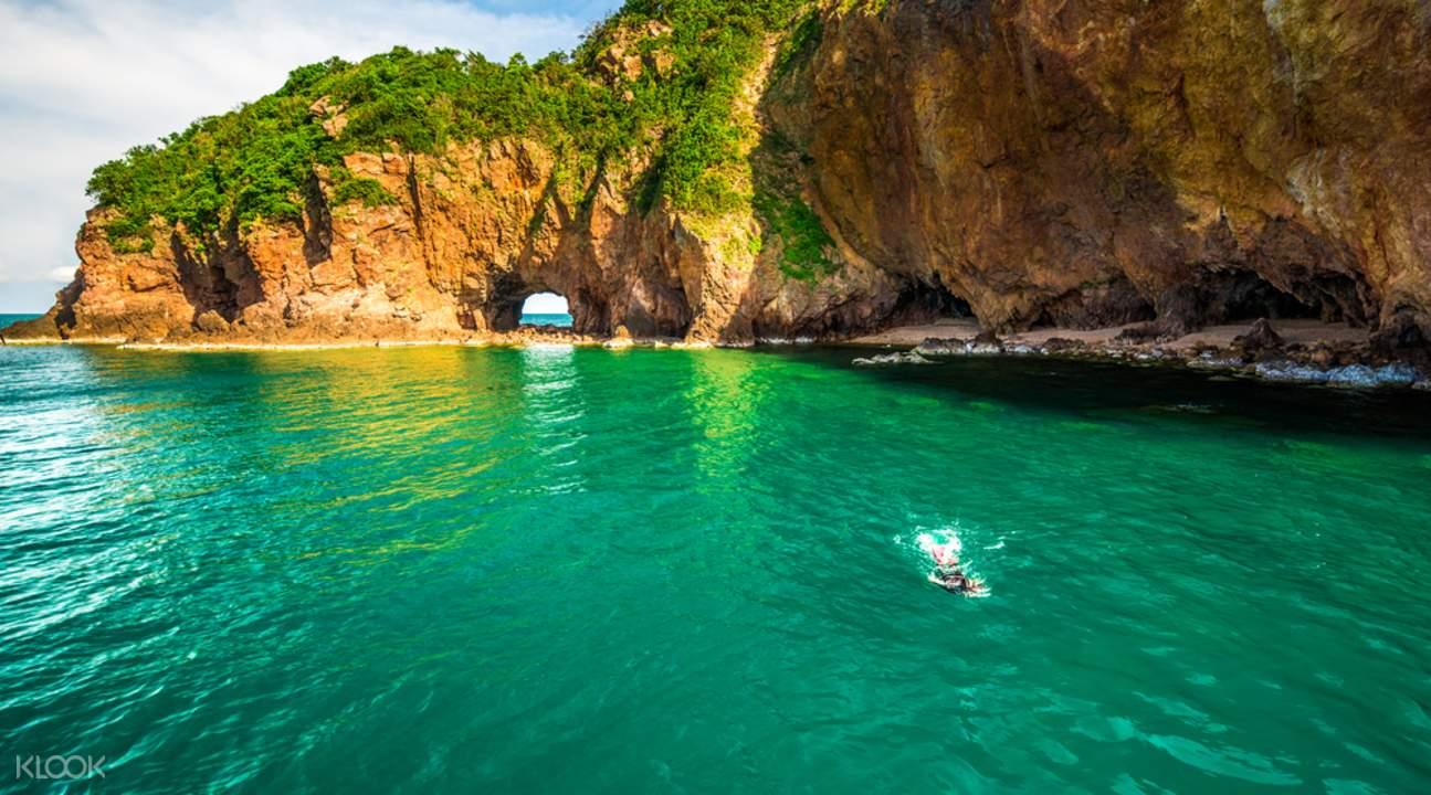 talu island speedboat snorkeling trip from Hua Hin