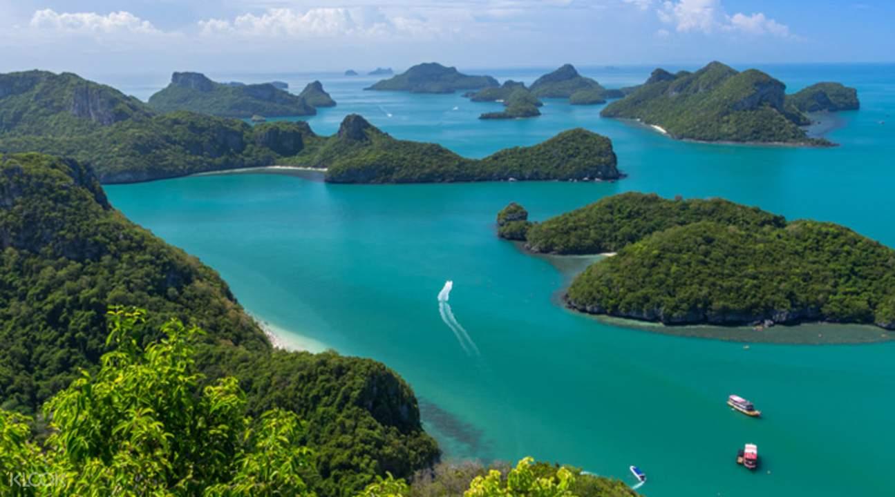 Wisata Ang Thong Marine Park Dengan Kapal Pesiar