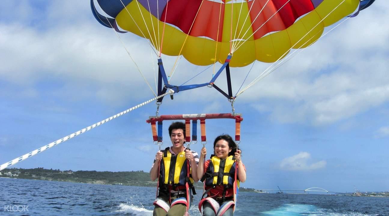 onna village parasailing