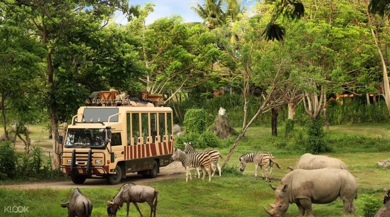 safari marine park Bali