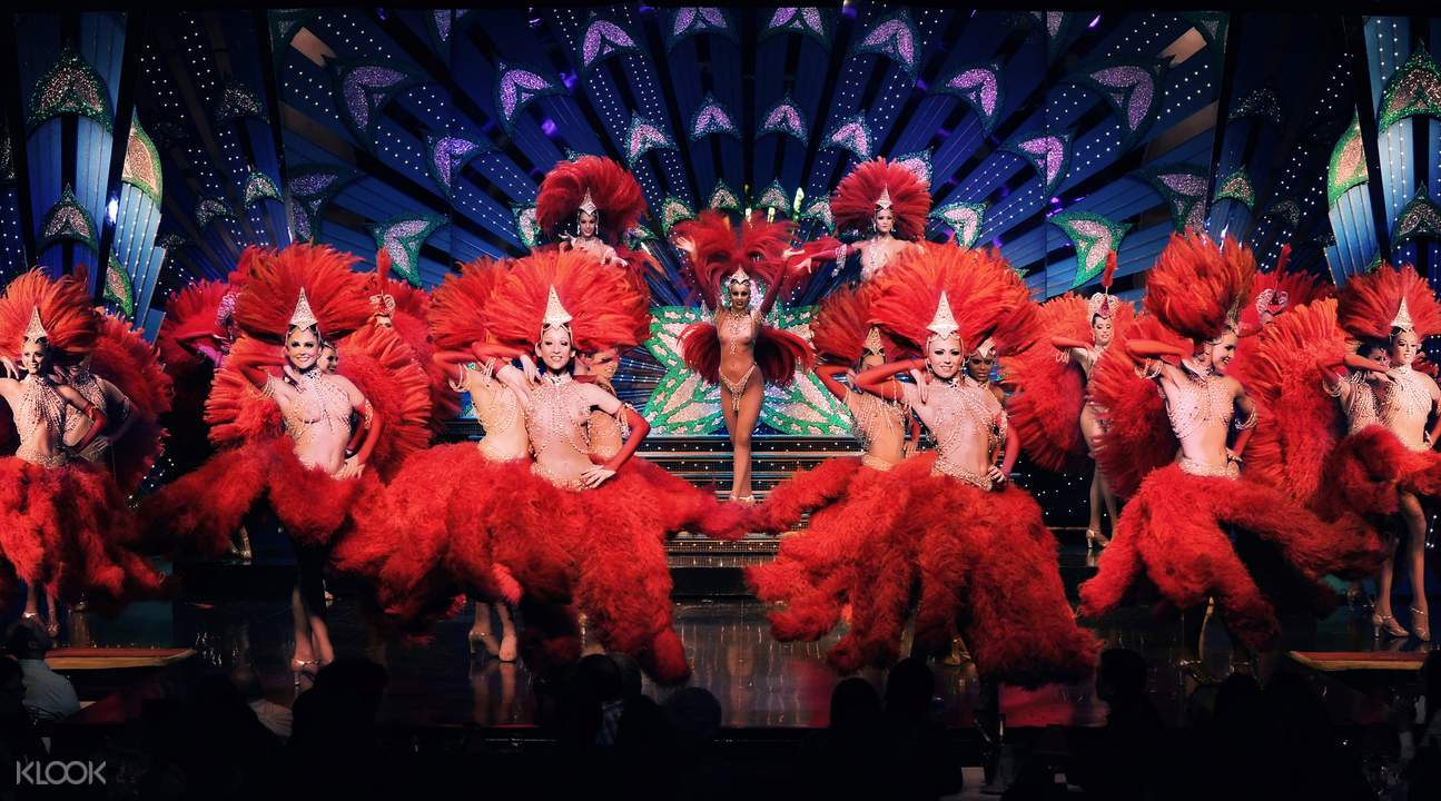 Moulin Rouge Ticket and City Tour
