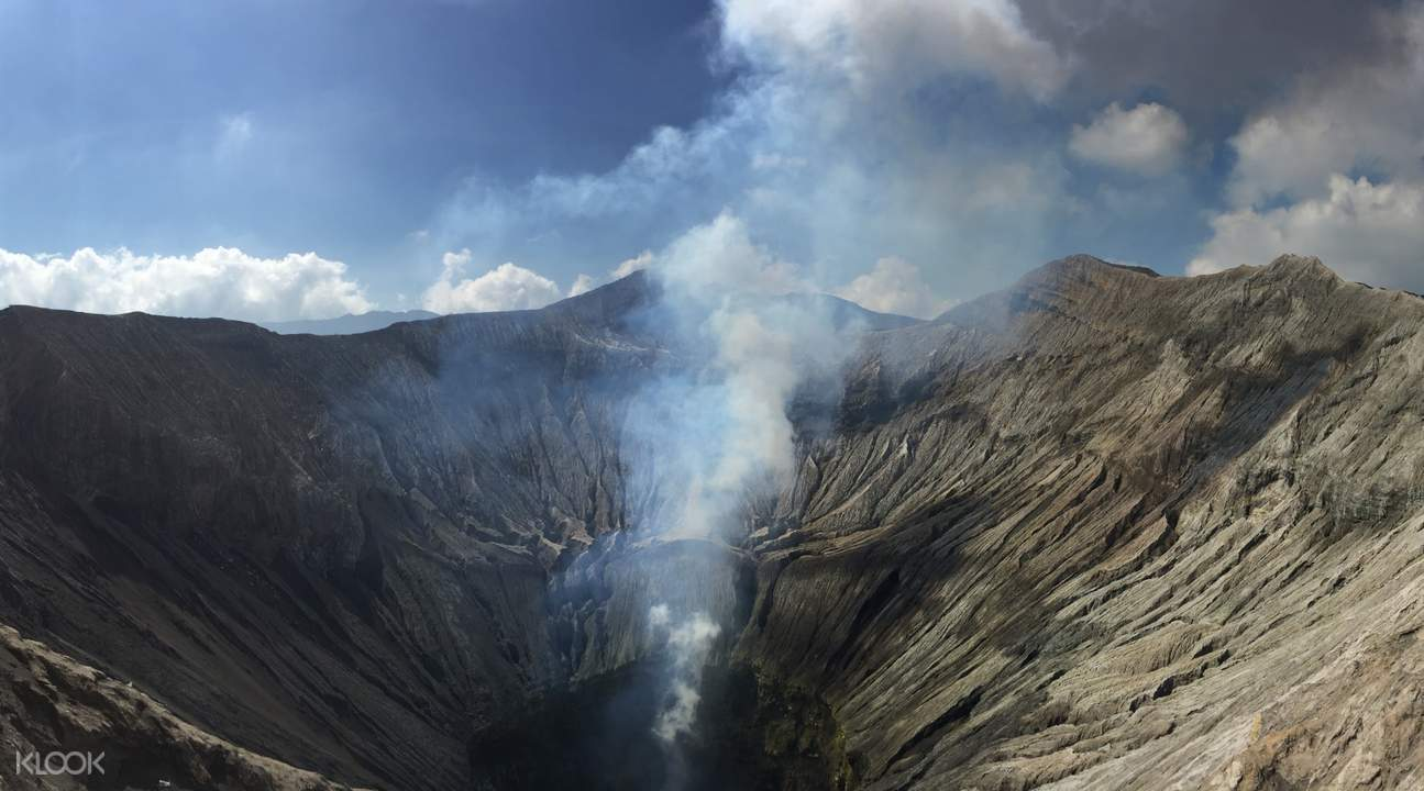 crater of mount bromo