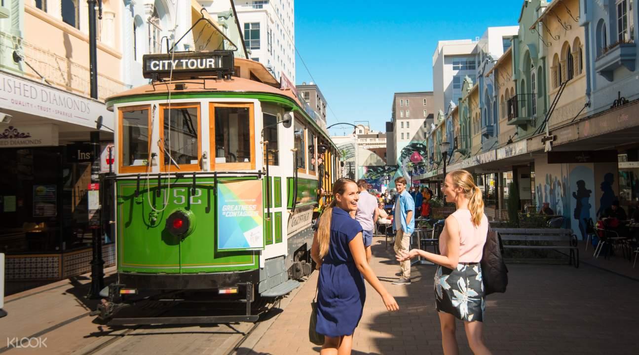 Christchurch Tram Ride