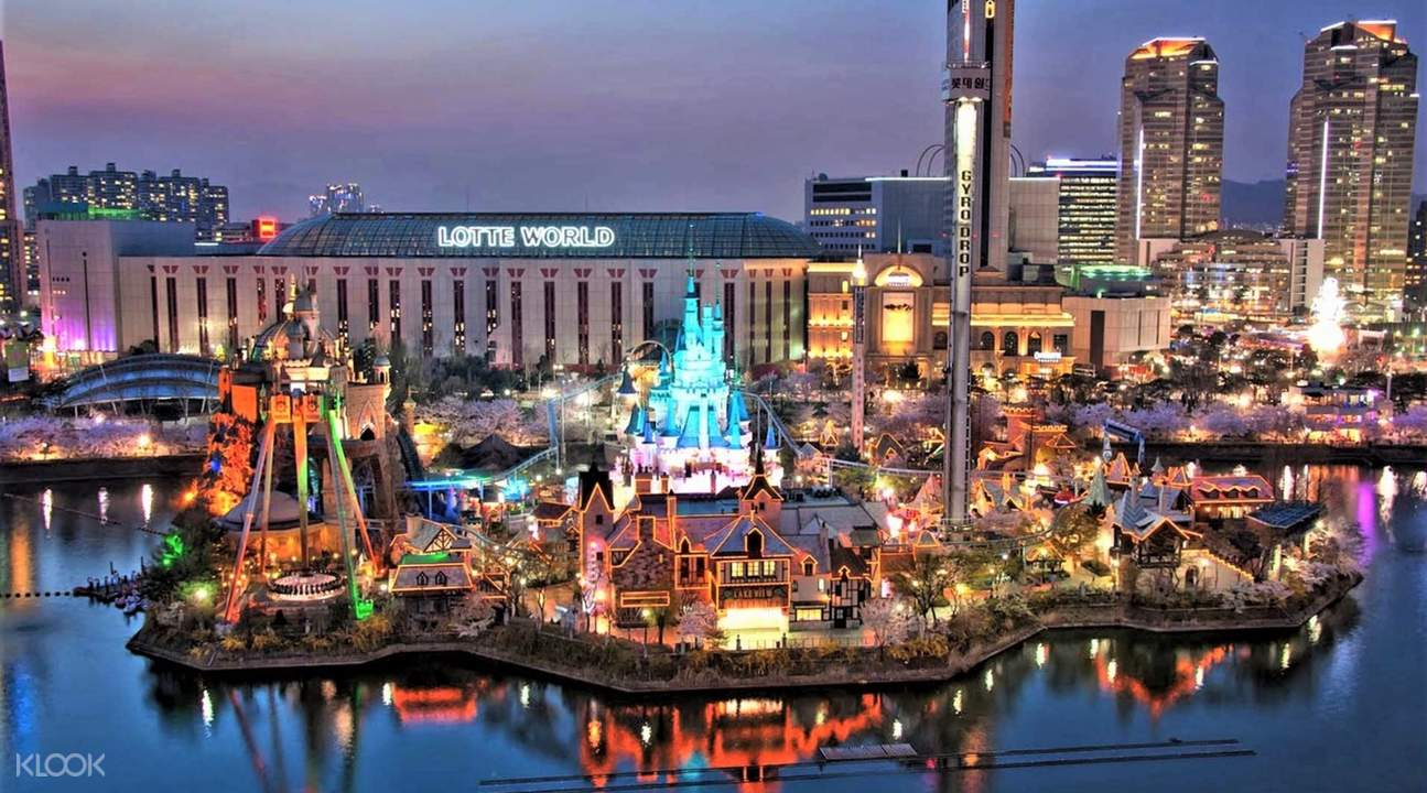view of lotte world