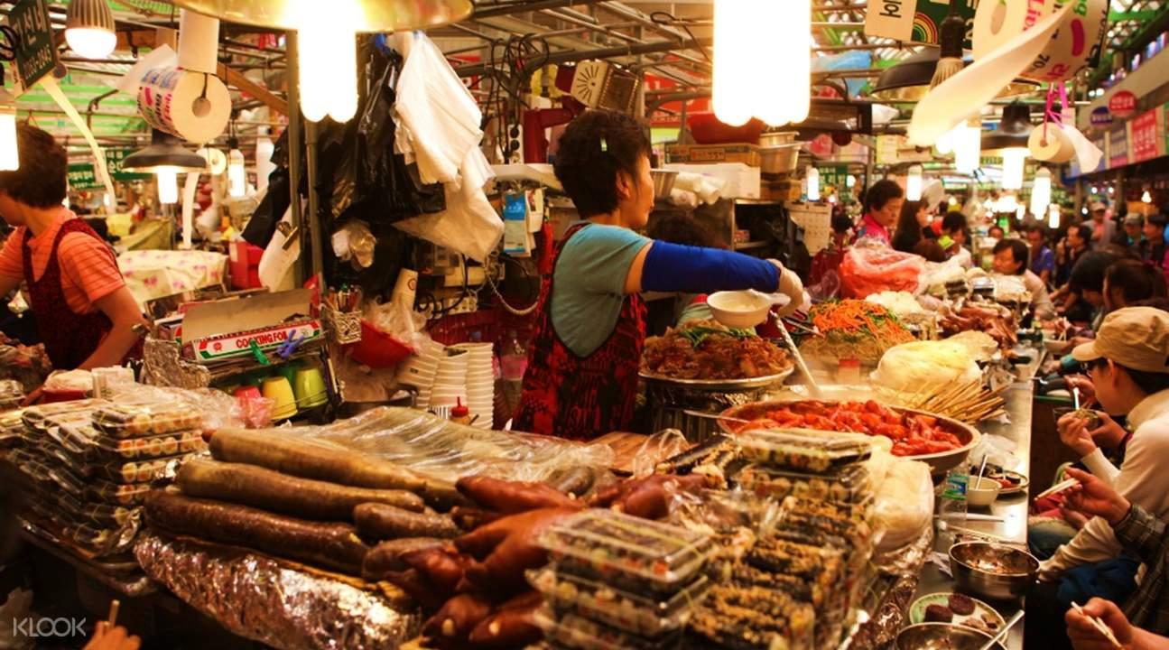 Korean Gwangjang Market