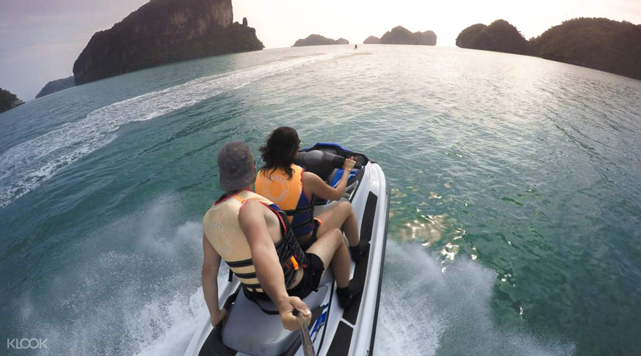 Langkawi tandem jet ski ride