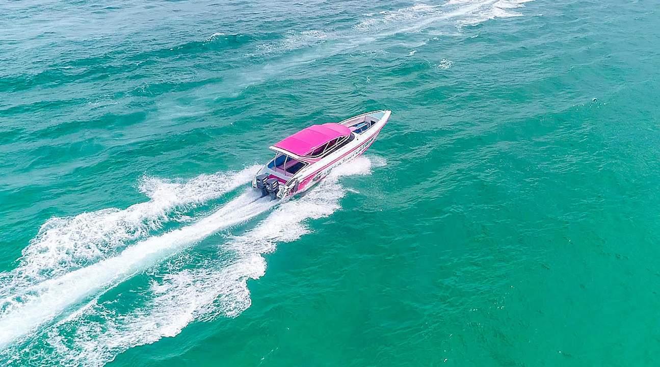 koh larn by speedboat