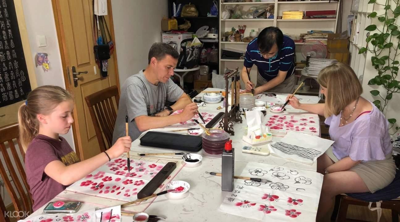 chinese painting class, chinese painting class shanghai, chinese painting class china