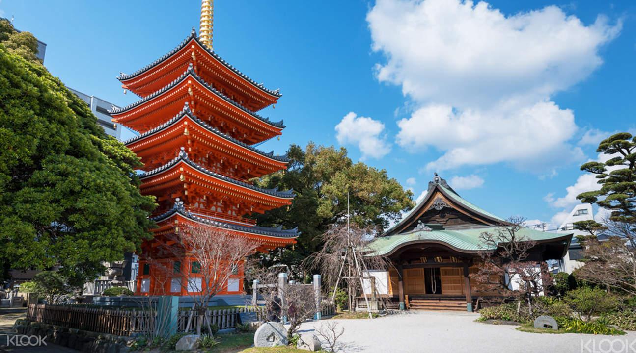 tochoji temple pagoda