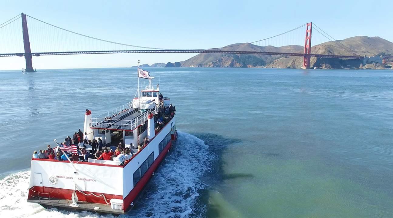 Golden Gate bay cruise in San Francisco