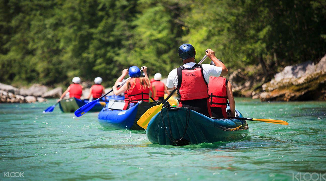 white water river rafting hualien