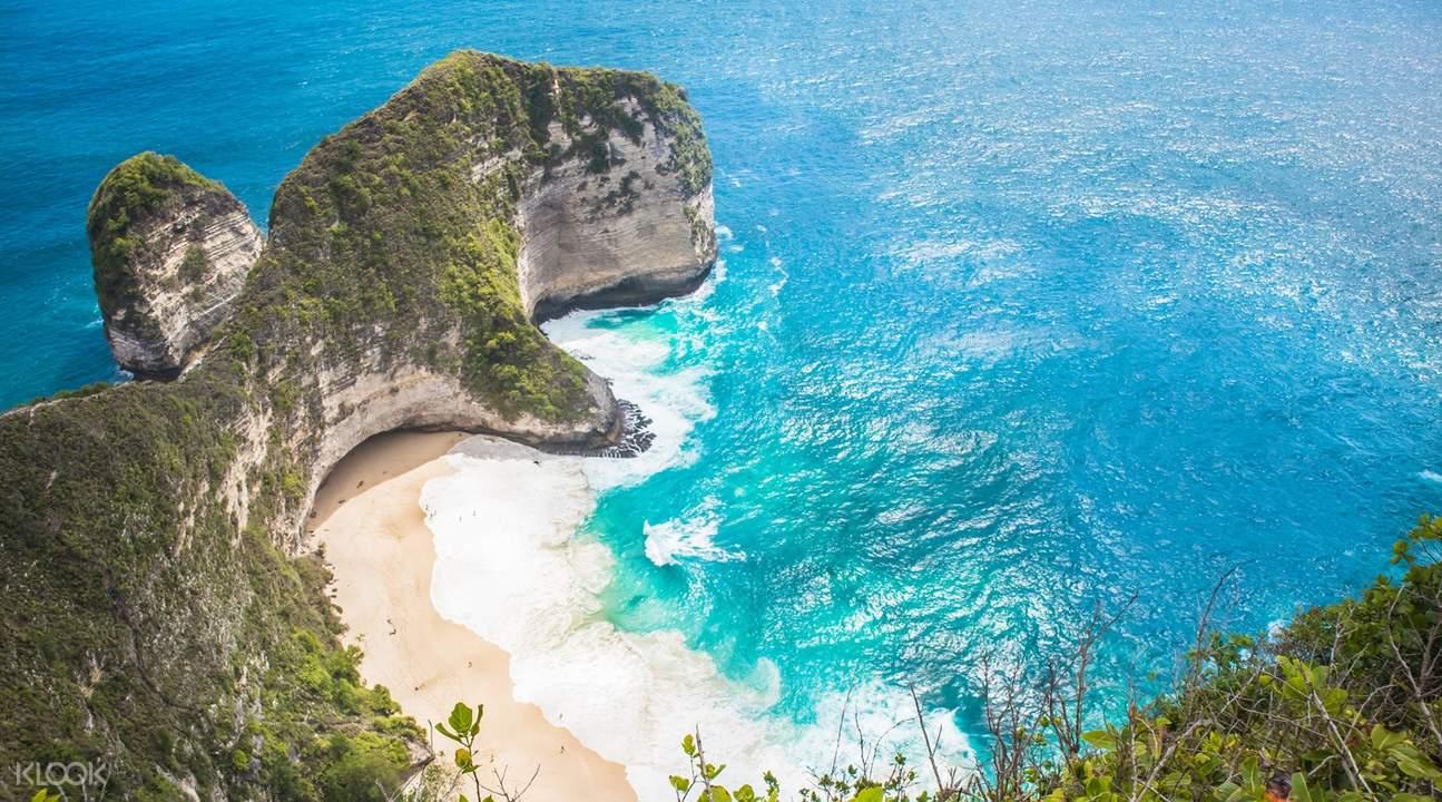 broken beach di Nusa Penida Full Day Trip dari Bali