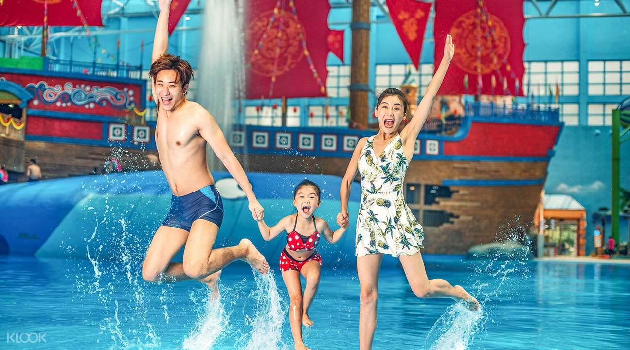 廣州融創水世界兒童滑梯