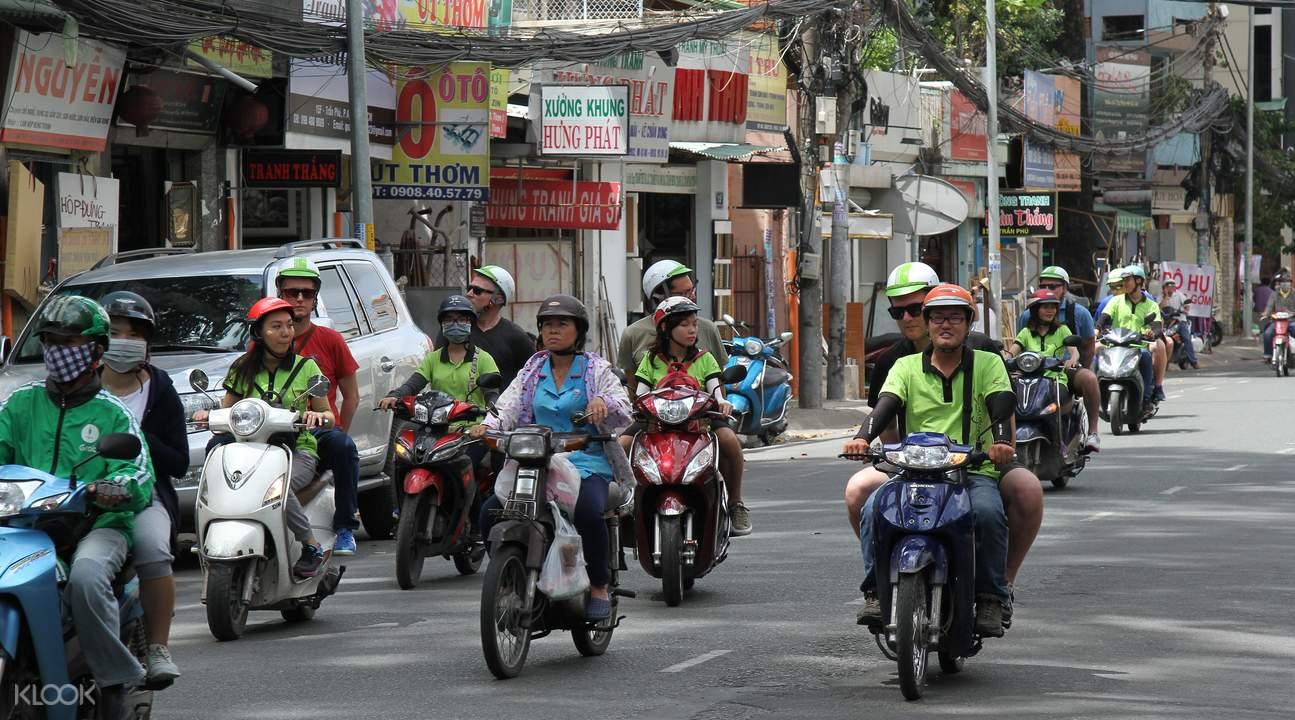 Saigon motorbike tour