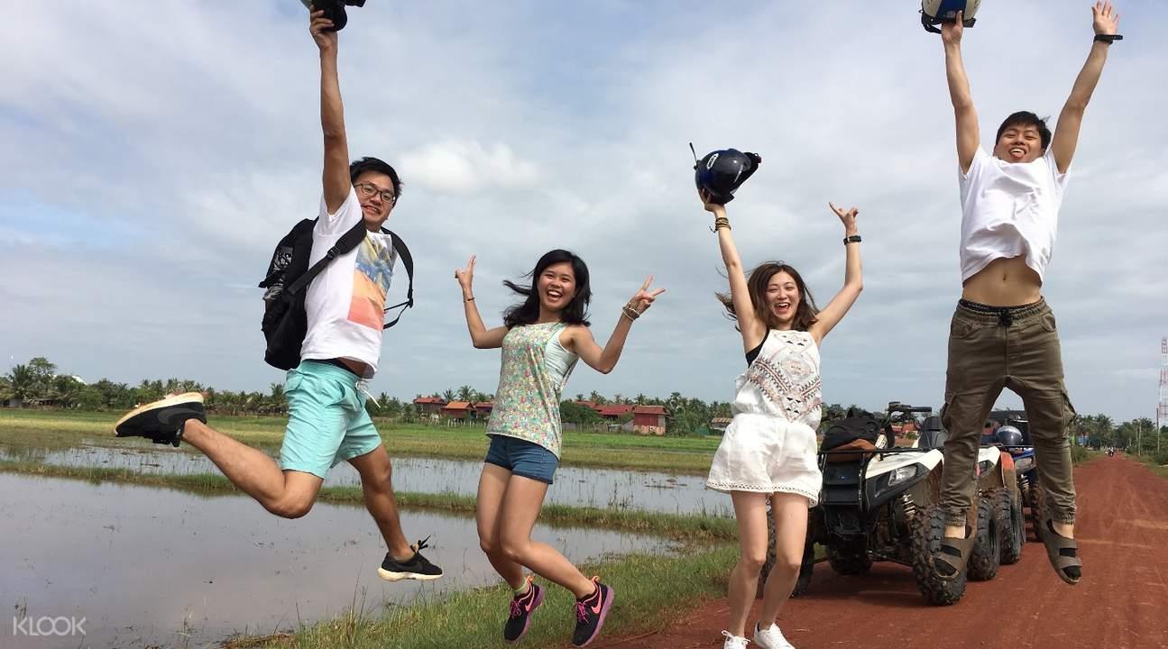 Quad Bike Adventure Siem Reap