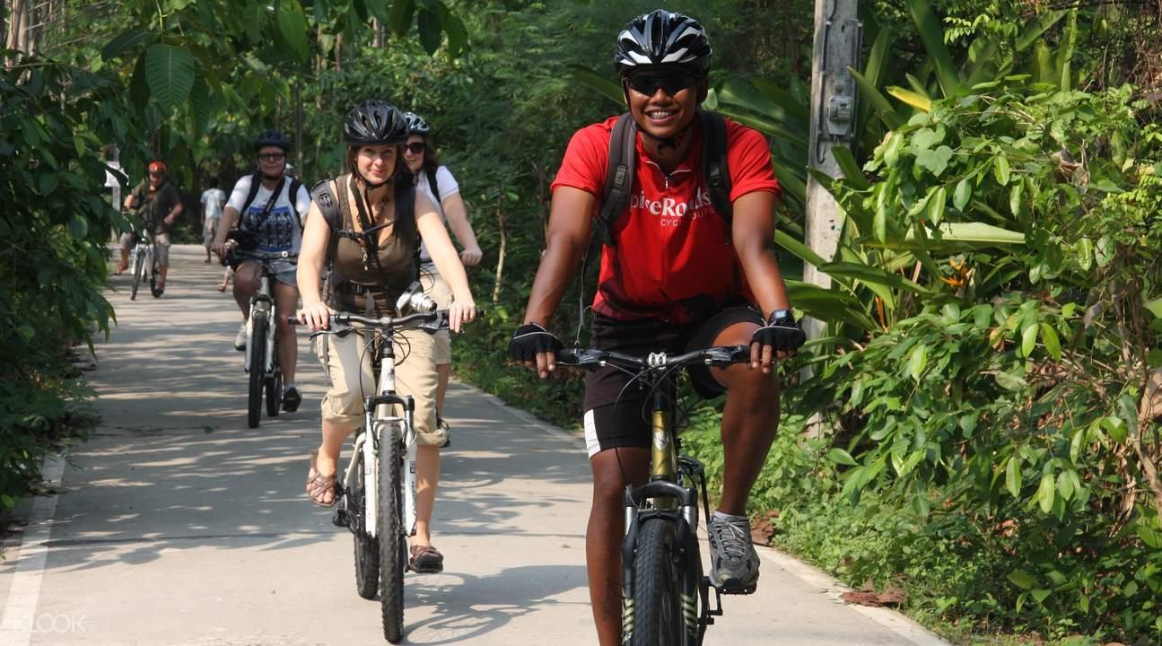 Bangkok Jungle Bike Tour