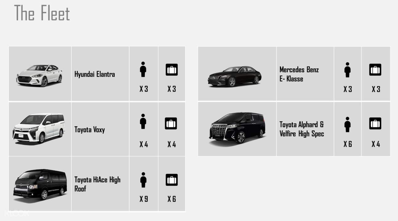 car models for transfers