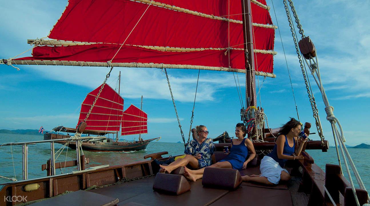 phang nga bay sunset dinner cruise