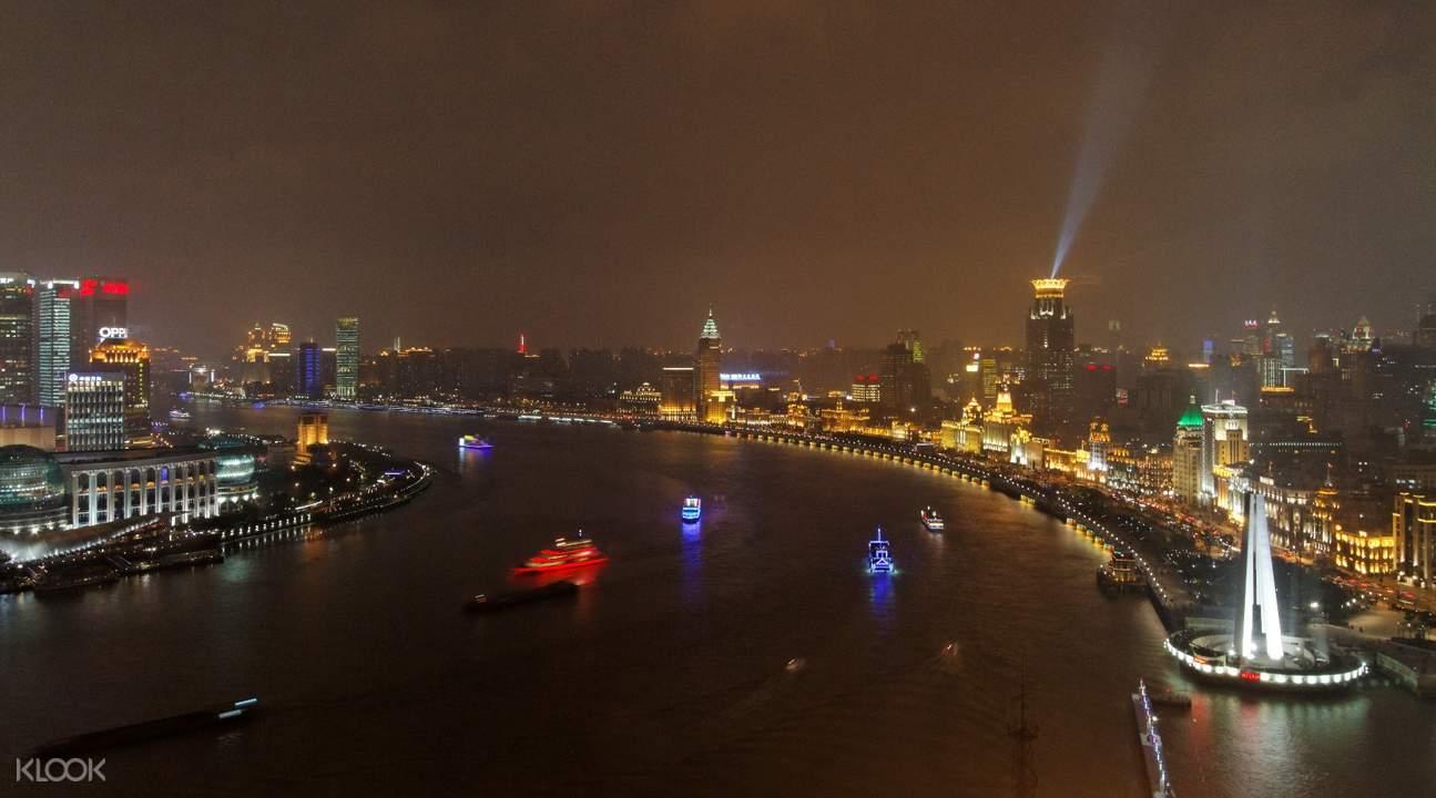 huangpu river night cruise