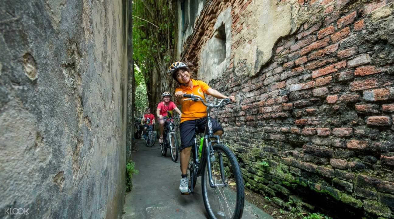 bangkok cultural bike tour thailand