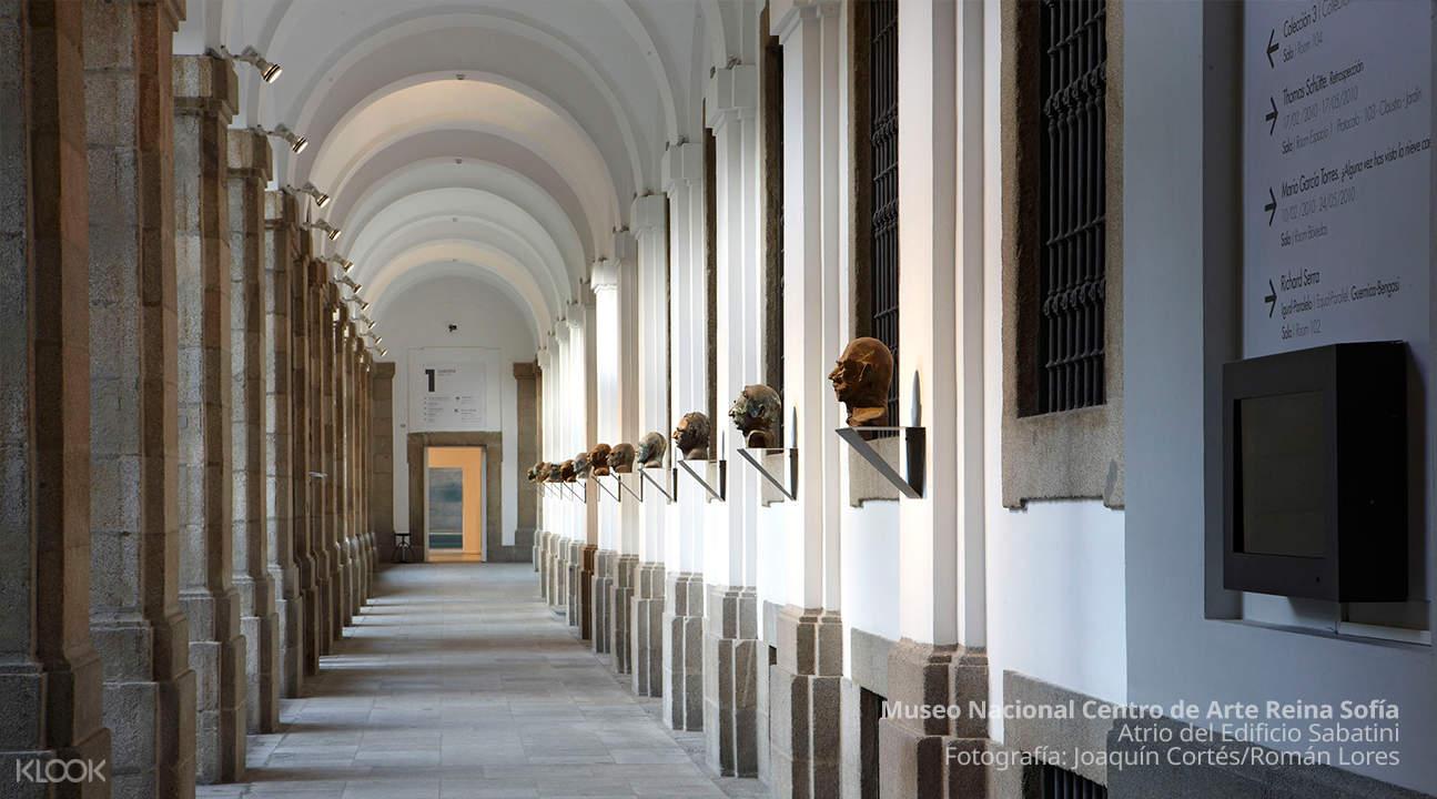 museum halls of reina sofia museum