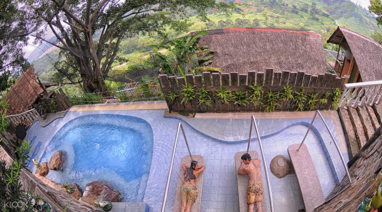 overview of Luljetta's Hanging Gardens Spa Experience
