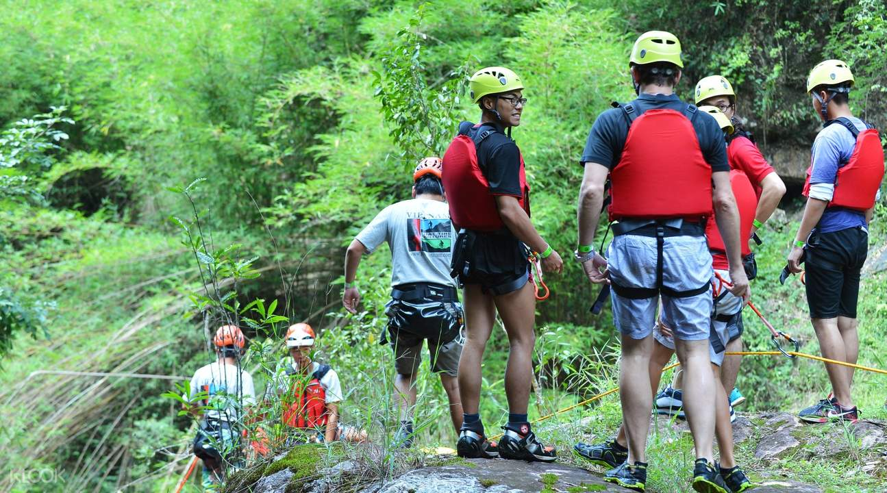 canyoneering join in tour