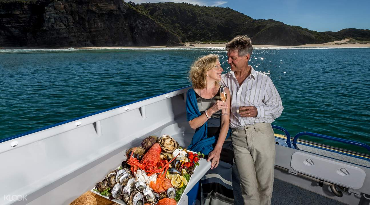 Tasmania Seafood cruise