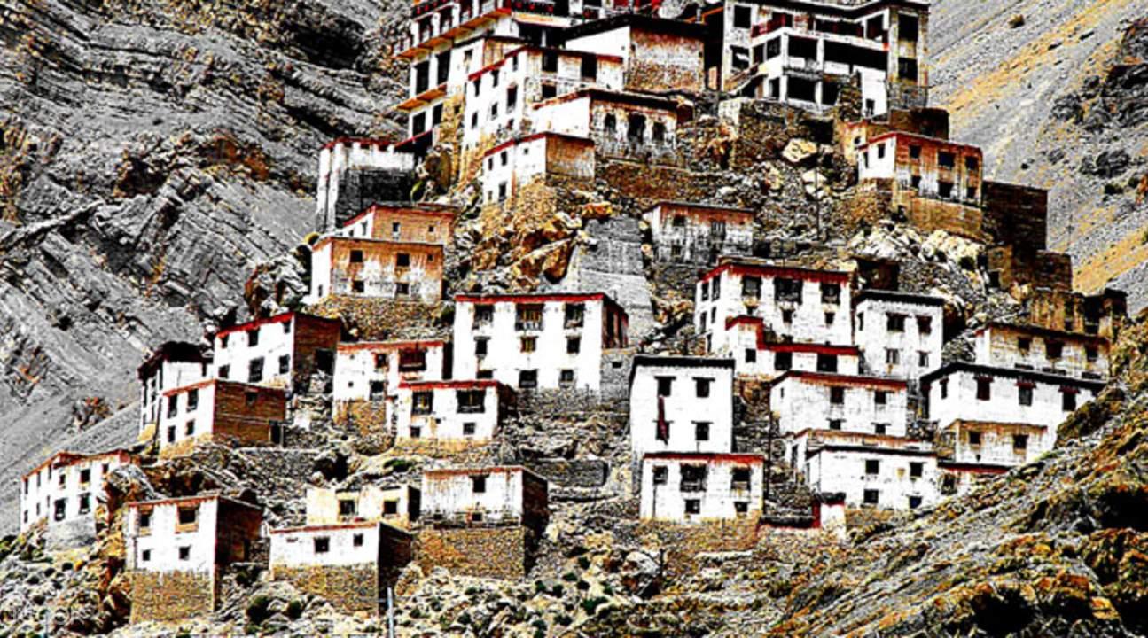 key monastery in spiti valley