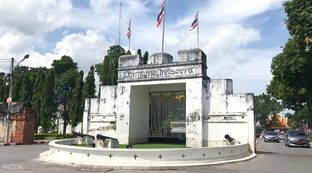 ancient city wall kanchanaburi full day tour from bangkok ak travel