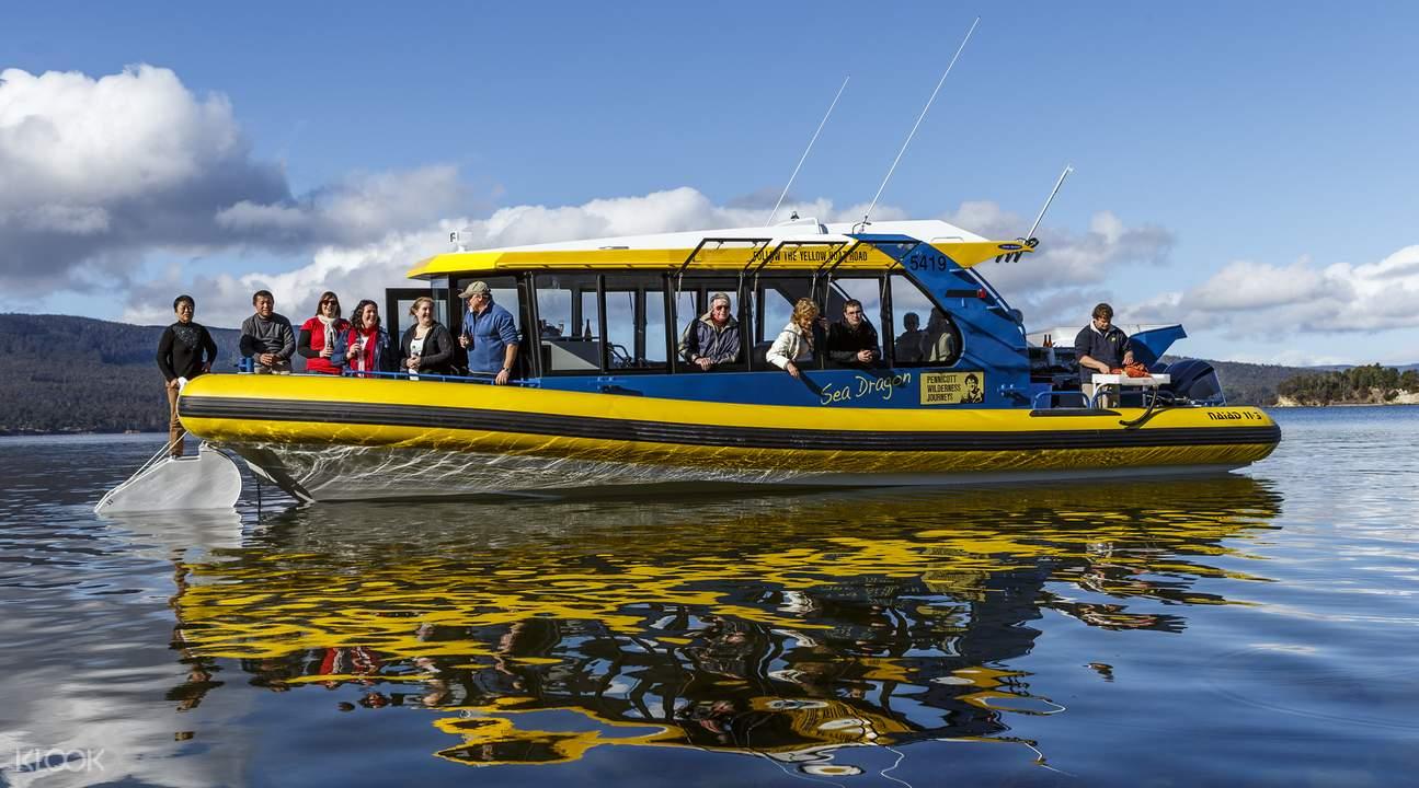 Tasmania Seafood Seduction Cruise