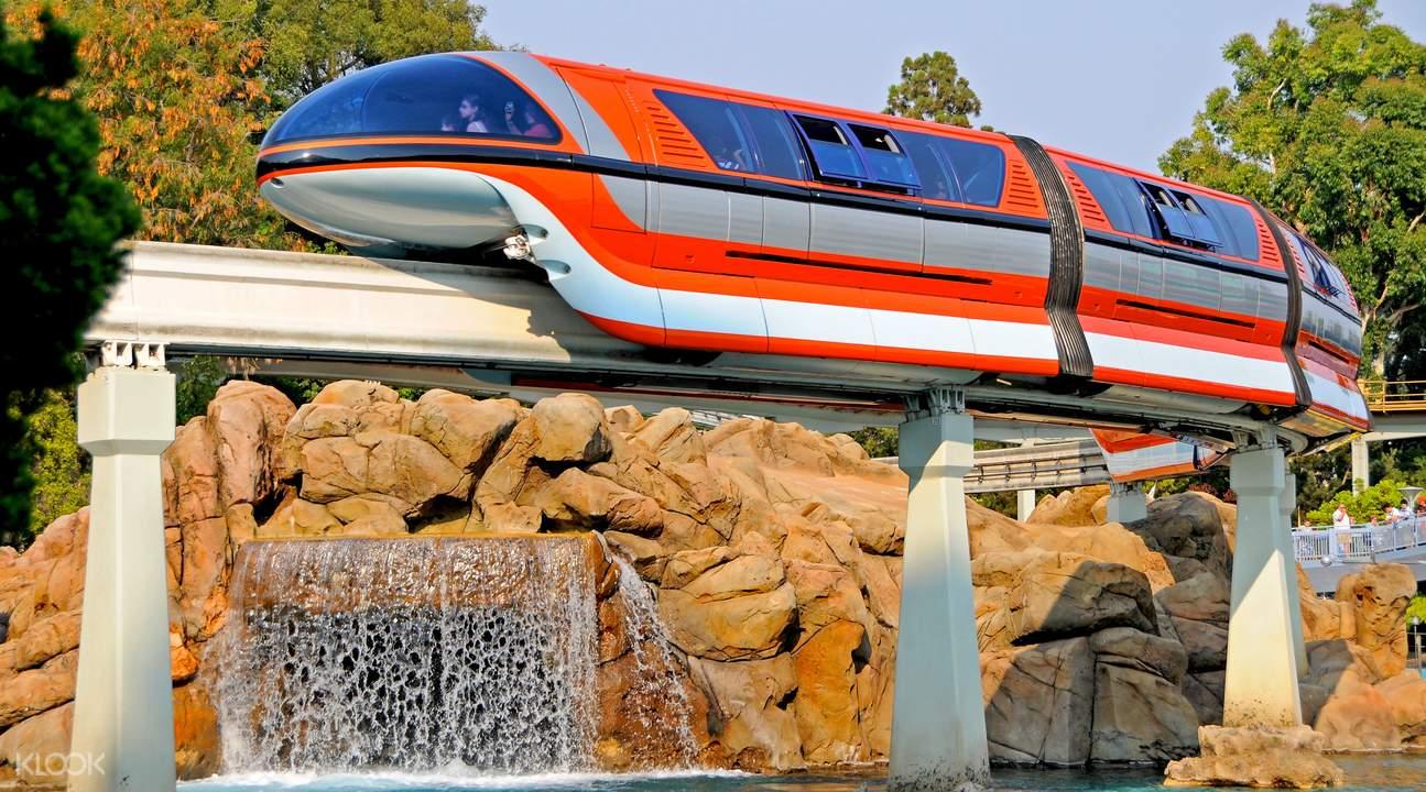 Disneyland resort tomorrowland