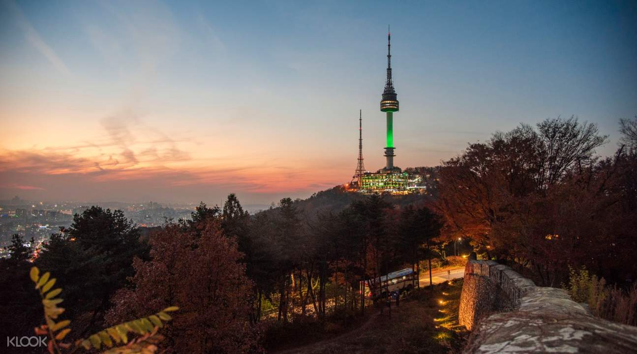 seoul day tour, n seoul tower