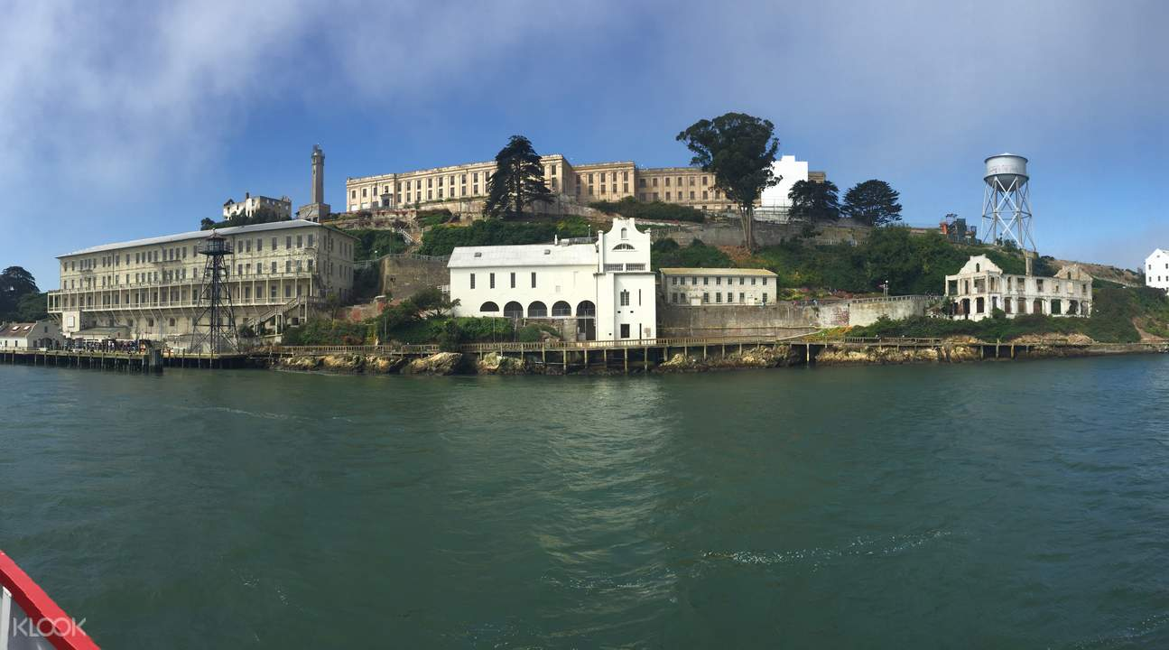See Alcatraz from your Golden Gate bay cruise
