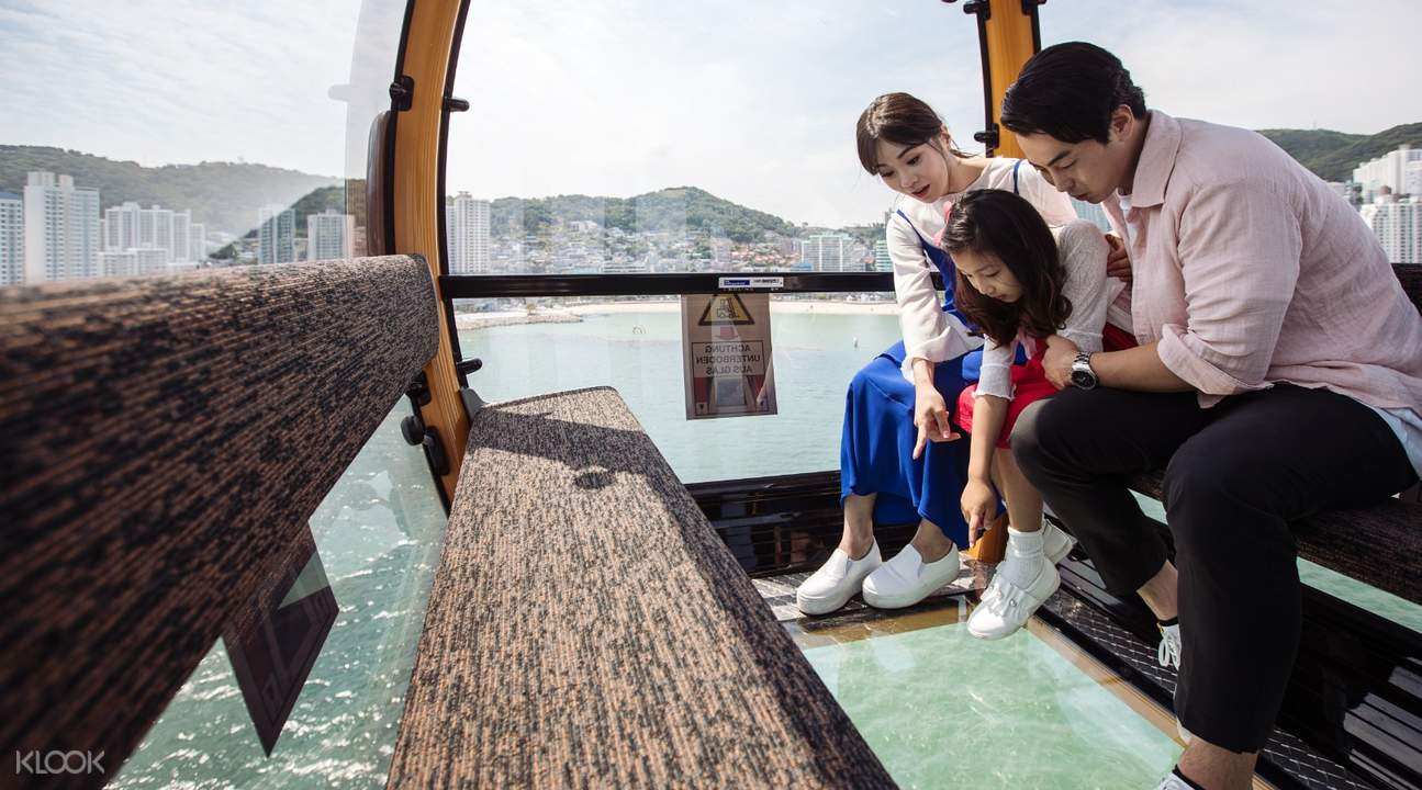 family onboard busan air cruise's crystal cruise
