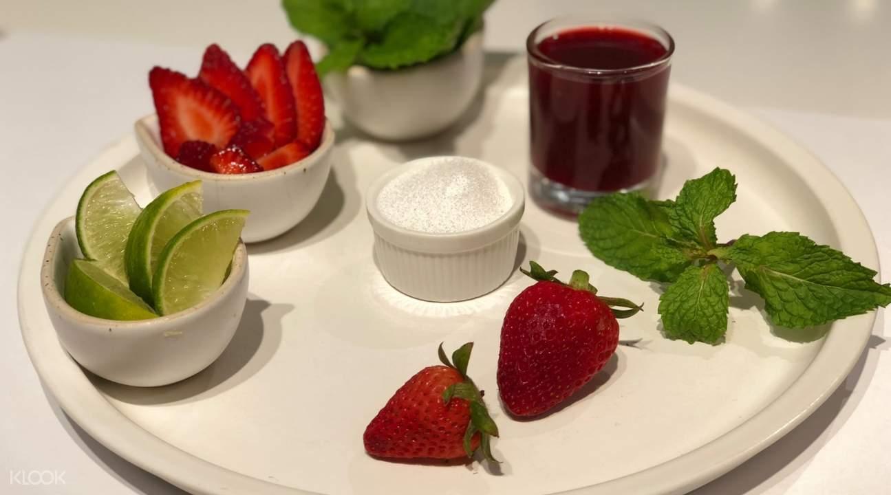 Strawberry Mojito from BRIX Dessert Cafe
