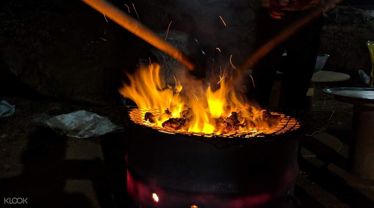 pawna lake campfire