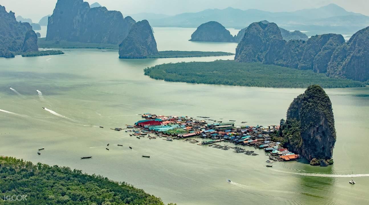 helicopter ride phuket