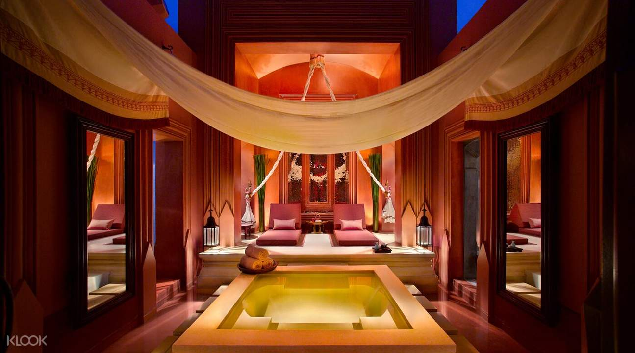 massage room at the barai spa hyatt regency hua hin