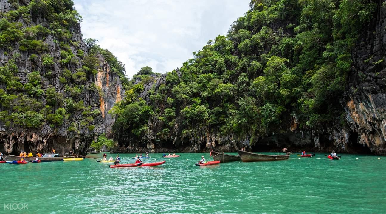 James Bond Island & Phang Nga Bay Tour by Long Tail Boat