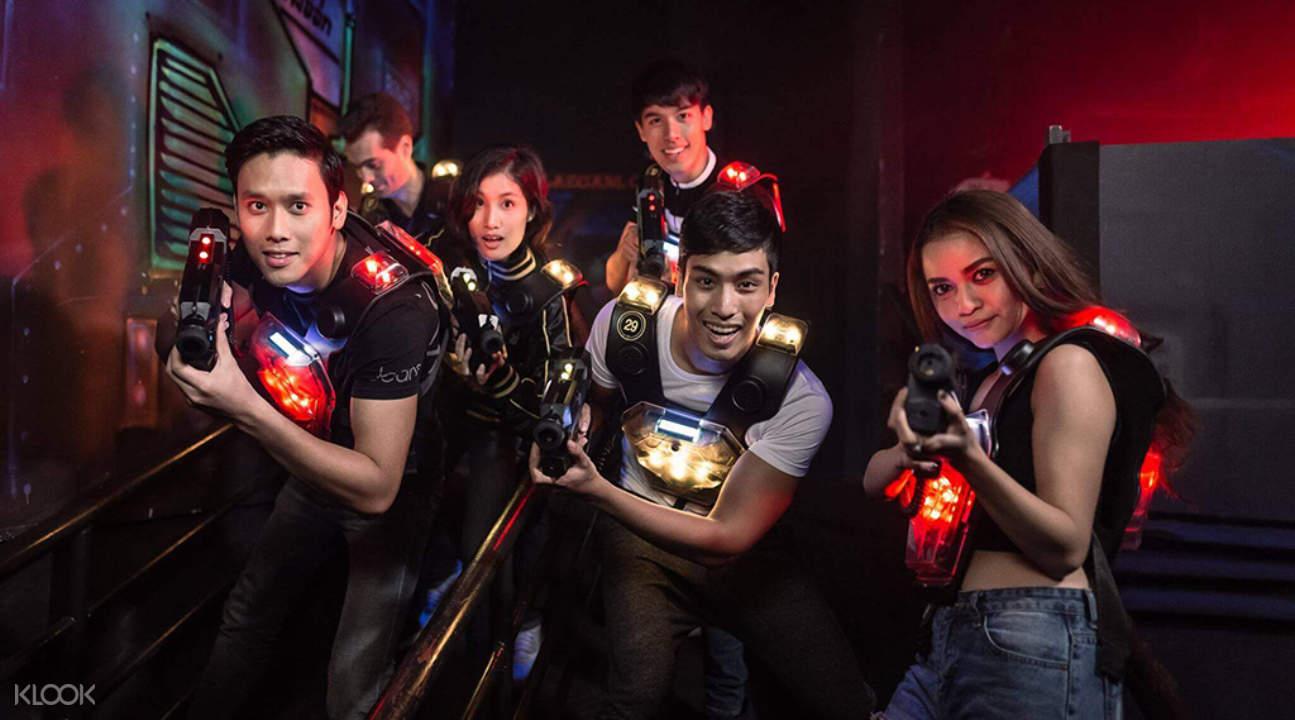 laser game in Bangkok